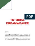 Tutorial Basico Dream Weaver