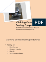 Clothing Comfort Measuring Instruments