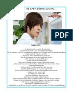 Diario de Baek Seung Joong