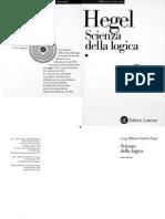 Hegel - Scienza Della Logica Vol 1