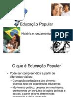 Educacao Popular Historia