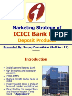 14149864 ICICI Bank Markeing Strategies