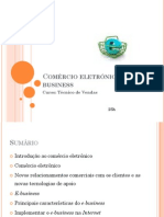 Comércio eletrónico e e-business
