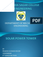Heliostat Power Tower