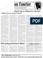 Bison Courier, February 7, 2013
