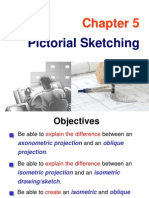 Chapter 05 Pictorial Sketching
