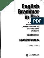 Cambridge - English Grammar in Use - Intermediate Book 2nd Edition by Raymond Murph