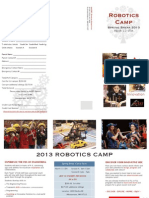 AHERT Robotics Camp Spring 2013