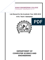 Microprocessors Lab Manual Original
