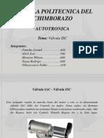 GRUPO 5 Valvula ISC Autotronica