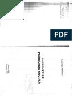 Elemente de Psihologie Sociala - Laurentiu Mitrofan