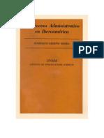 Briseño Sierra, Humberto - El Proceso Administrativo en Iberoamerica