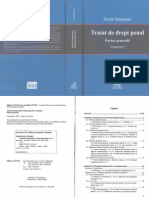 Tratat de drept penal. Partea generală. Vol. I - Florin Streteanu - 2008