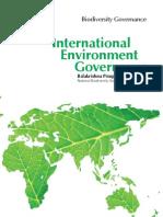 Biodiversity and Governance