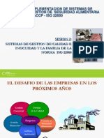 Sesion 2 Haccp- Iso 22000