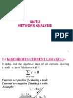 Unit-2, (Kcl, Kvl, Loop & Mesh)