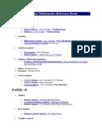 IAS Math Reference Books