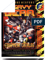 Heavy Gear - Equipment Catalog, Terranovan Equipment