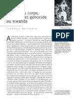 Baillette Rwanda Genocide Corps Racisme Ideologie