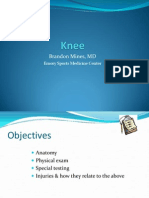 knee lecture