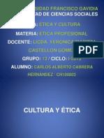 CULTURA Y ÉTICA