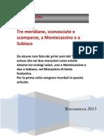 Nicola Severino - Gli Orologi Inediti Di Montecassino e Subiaco