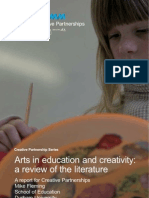 Arts in Education and Creativity