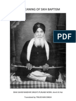 Meaning of Amrit-Bhai Randhir Singh