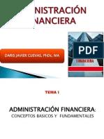 Tema i La Adm. Financiera