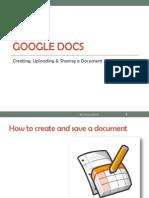Klarizza Reotutar How to Create Google Docs