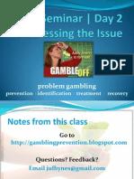 UO SAPP Problem Gambling Seminar   Day 2 Notes/Study Guide