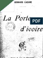 Lazare Bernard - La Porte d'Ivoire