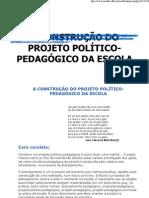 A construção do projeto político-pedagógico da escola_passo a passo