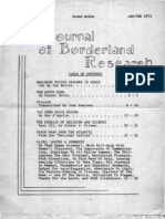 The Journal of Borderland Research 1973-01 & 02 (No 35-36)