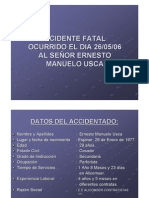 Accidente Fatal