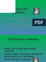 Calcificación Cardiaca