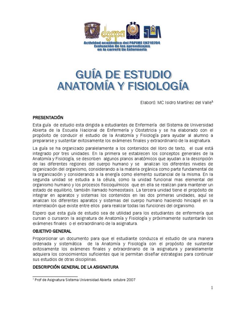 Contemporáneo Anatomía Y Fisiología De La Revisión De Los ...