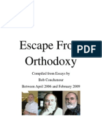 Escape From Orthodoxy - Bob Couchenour