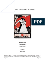Bibliografia Los Artistas Del Pueblo Fornes Majur Portillo