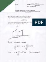 Calculus 3 Practice Test 3