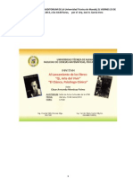 Discurso en El Lanzamiento de Libros Qi y El Psicologo Clinico