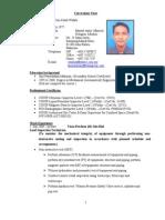 Hazrulnizam CV