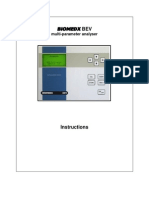 Biomedx BEV Manual LCD Model