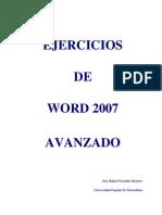 Ejercicios Word 2007 Avanzado