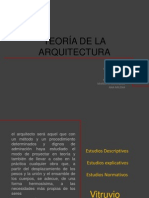 Exposicion2 Teoria de La Arquitectura