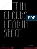 Feet In Clouds Head in Space