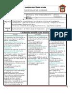 Plan de evaluación 4o bim. 1 grado