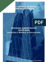 BACEN-ProcessoAdministrativoDisciplinar-InstrucoeseModelosdeDocumentos