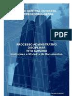 BACEN ProcessoAdministrativoDisciplinar Sumario InstrucoeseModelosdeDocumentos