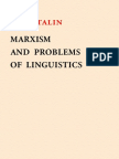 STALIN - Marxism and Problems of Linguistics